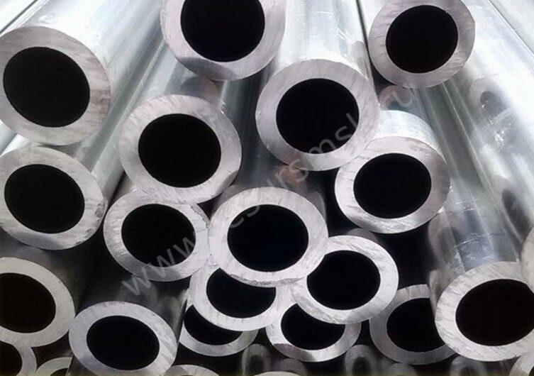 Круглые алюминиевые толстостенные трубы