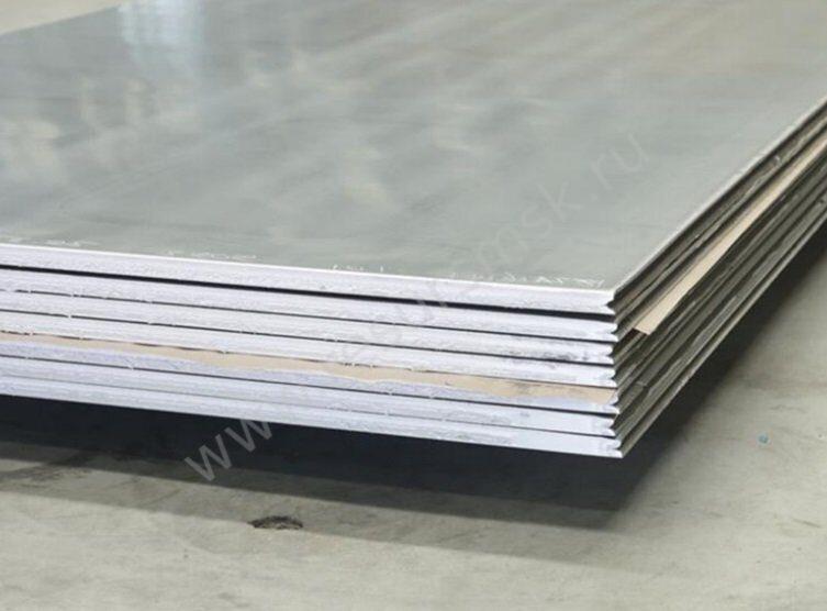лист алюминиевый А5Н