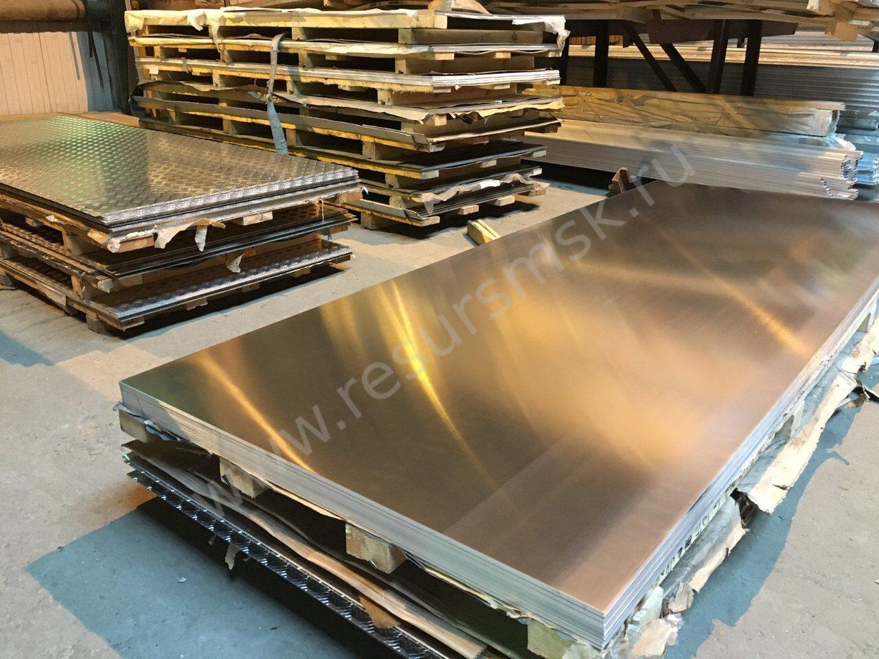 Листы из алюминия А5М