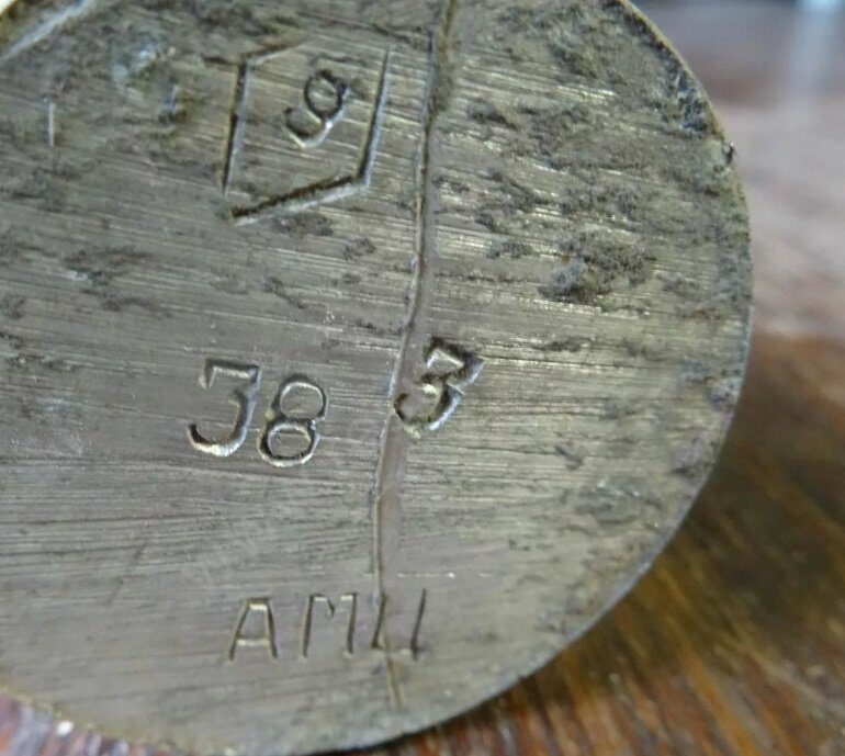 Маркировка на алюминиевом круге АМц