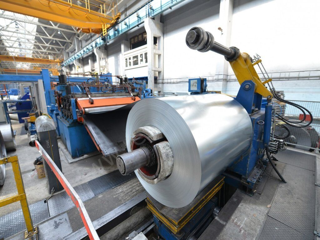 Производство алюминиевого листового проката АМг3М