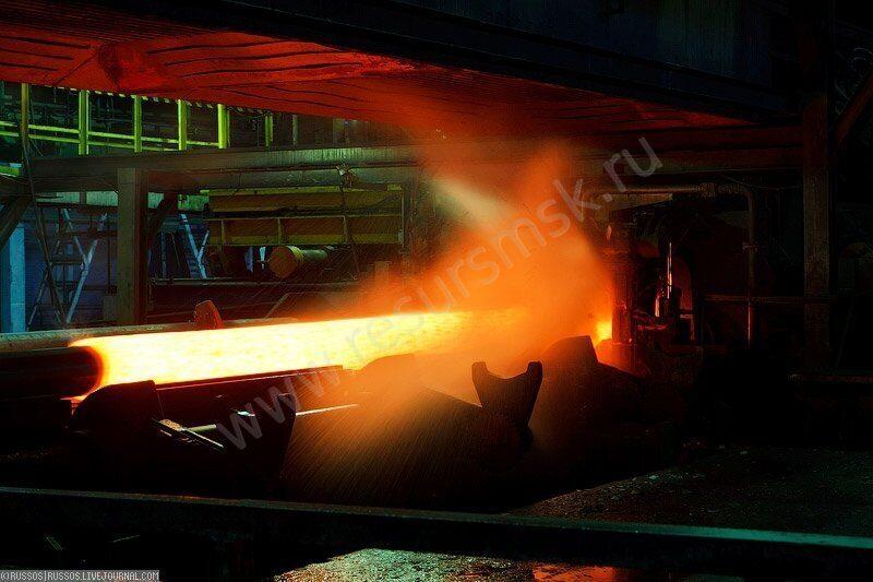 производство бесшовной жаростойкой трубы