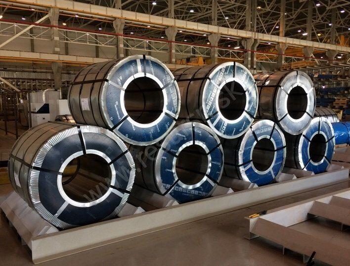 производство рулонов AISI 430