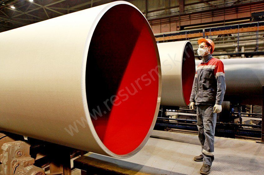 производство труб большого диаметра