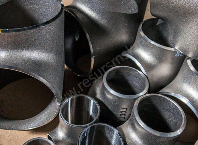 стальные тройники трубопровода