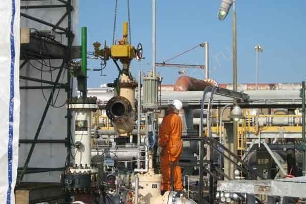 техническое облуживание клапанов трубопровода