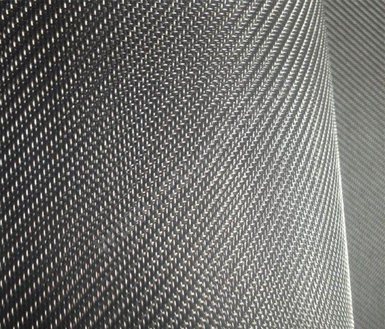 тканая сетка саржевого плетения