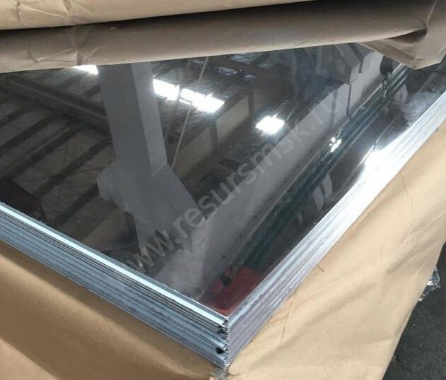 листовая нержавейка 08Х18Н10 с зеркальной поверхностью